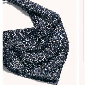 Free people paisley print scarf